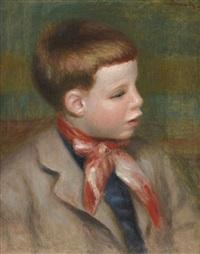 portrait de jean renoir by pierre-auguste renoir