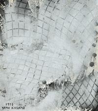 silver wind by yayoi kusama