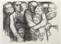 mutter ii (mothers ii) by käthe kollwitz