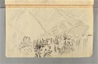 carnet été-automne 1921 (sketchbook w/c.16 works) by pierre bonnard