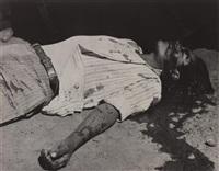 obrero en huelga, asesinado (striking worker, assassinated) by manuel alvarez bravo