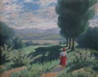 spacer po lesie by bela komorowicz
