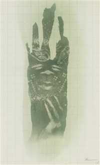 untitled (body print) by david hammons