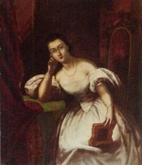 portrait of artist's daughter susan walker morse by samuel f.b. morse