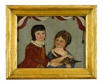 portrait of the children of lord gosford by anglo-american school (19)