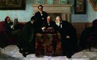 la partie d'échecs by edouard moyse