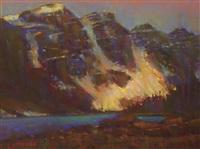 shimmering glacier by andrew mcdermott