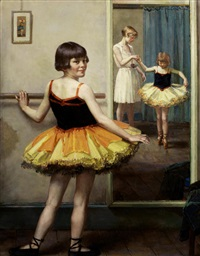 the young ballerina by garnet ruskin wolseley