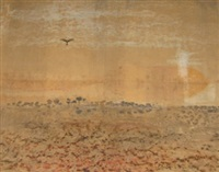 birdsville mirage by william leonard lloyd annois