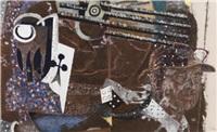 le peintre misérable iii (in 2 parts; diptych) by jean le gac