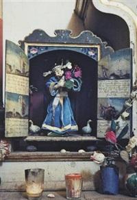 oaxaca, saint with dusk, san felipe (collab. w/ eliot porter) by ellen auerbach