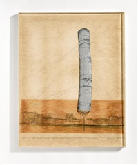 5600 cubicmeter package (project for documenta iv - kassel) by christo and jeanne-claude