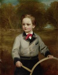 portrait of travers buxton jr. by eden upton eddis