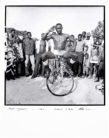super cycliste by malick sidibé
