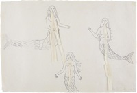 untitled (mermaids) by kiki smith