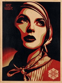 rise above rebel by shepard fairey