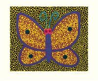 papillon (i) by yayoi kusama