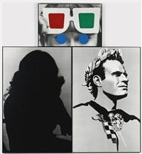 stereo vision (in 3 parts) by john baldessari