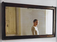 in the mirror 1 and 2 (diptych) by elina brotherus