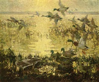 the flight of the wild duck by charles walter simpson