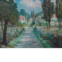 jardin fleuri by médard tytgat