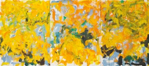 some more (in 3 parts) by joan mitchell