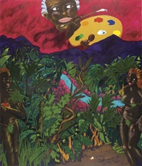 a legend dimly told by robert h. colescott