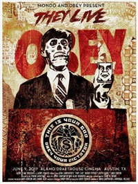 invasion los angeles/they live by shepard fairey