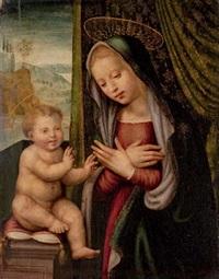 the madonna and child by giuliano bugiardini