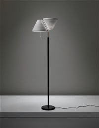 rare standard lamp, model no. a 810 by alvar aalto