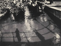 my shadow in a graacht, amsterdam by ilse bing