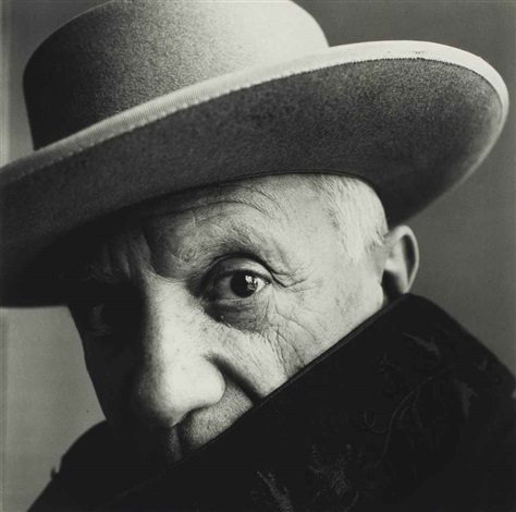 picasso, cannes, france by irving penn