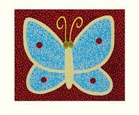 papillon (ii) by yayoi kusama