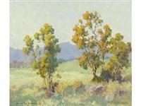 autumn trees by maurice braun