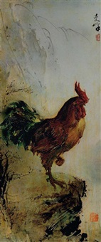 rooster by lee man fong