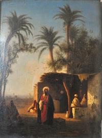 village d'algérie by charles théodore (frère bey) frère