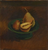 nature morte aux poires by andré derain