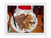 steak and potatoes by bill owens