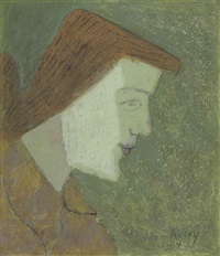 head of march by milton avery