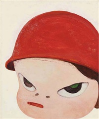 little red trooper by yoshitomo nara