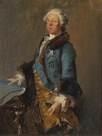 portrait of abel françois poisson, marquis de marigny by louis tocqué