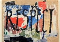 respect 3 by mimmo rotella