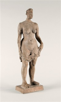 femme nue by germaine richier