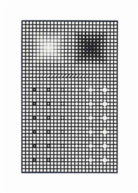 supernovae - neg by victor vasarely