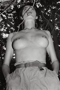 henrietta in my backyard, ramatuelle by helmut newton