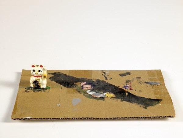 money cat by fran holstrom