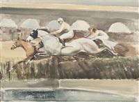 le saut de haie by john rattenbury