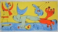 untitled, 1956 by joan miró