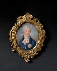 portrait de dignitaire autrichien portant les insignes de l'ordre de saint etienne de hongrie by joseph kaltner