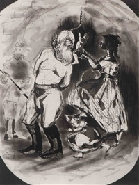 untitled (john brown) by kara walker